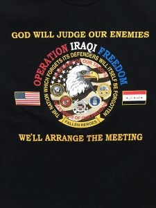 GOD WILL JUDGE OUR ENIMIES 2